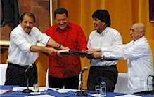 Trois autres pays se joignent à l'ALBA