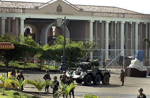 Putsch au Honduras: Le président Bolivarien Manuel Zelaya renversé par l'Armée, la Bourgeoisie et l'Eglise