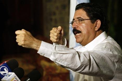 Honduras: coups de feu près de la présidence et couvre feu instauré