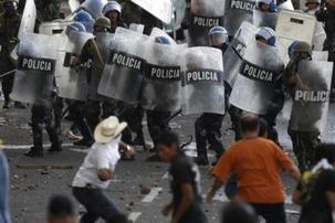Le Honduras sous une chape de plomb