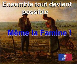 UMP: Crise à sens unique