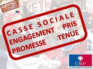 UMP: Pas touche aux cadeaux fiscaux !