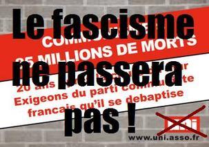 Agression fasciste, hier, contre le siège de la Fédération du PCF 13
