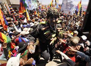 Bolivie : large victoire électorale d'Evo Morales et du Socialisme