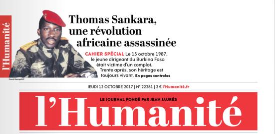 Thomas Sankara, une révolution africaine assassinée