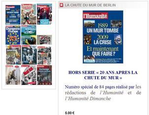 Les courants majoritaires de la direction du Parti Communiste Français au pied du mur... de Berlin