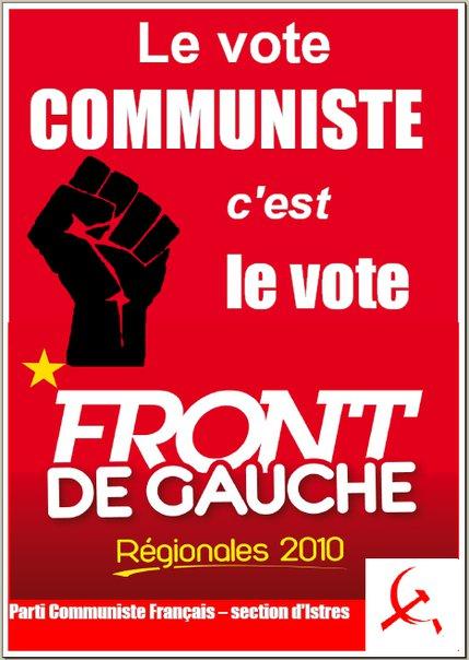 Présentation de la liste du Front de Gauche pour les Bouches du Rhône