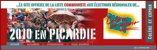 Maxime Gremetz tête de liste aux régionales en Picardie