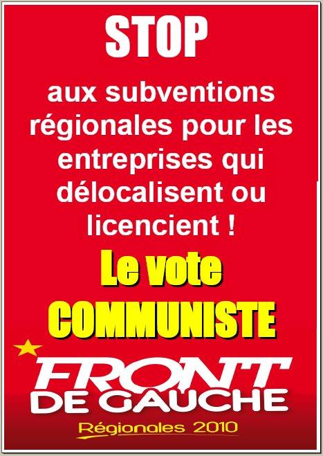 Front de Gauche PACA : la liste des candidats