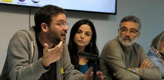 La CUP et Fachin (ex-Podemos) créent une plate-forme pour rassembler les fédéralistes, confédéralistes et indépendantistes