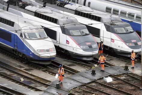 SNCF : 2018, année à hauts risques pour le rail (L'Humanité)