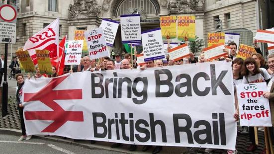Avec 30 ans de retard, Macron répète les erreurs des britanniques avec le démantèlement de British Rail