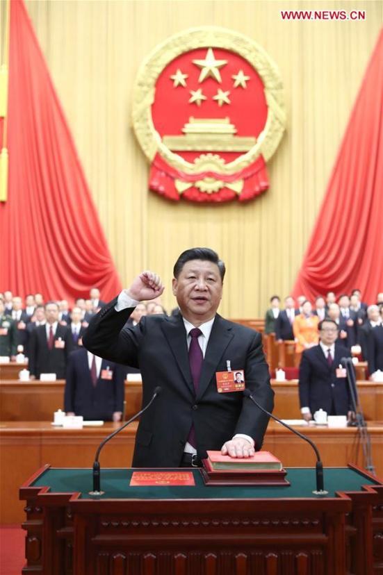 Xi Jinping réélu à l'unanimité Président de la République Populaire de Chine