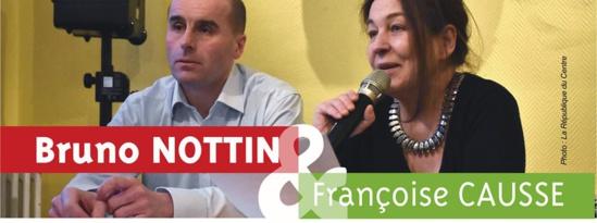 5.96% pour Bruno Nottin (PCF) dans la 4ème circonscription du Loiret