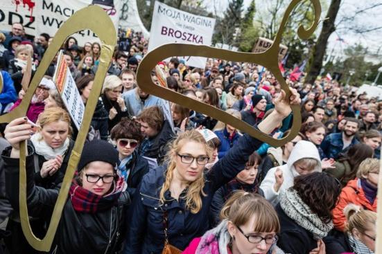Droit à l'IVG en danger : solidarité avec les femmes polonaises