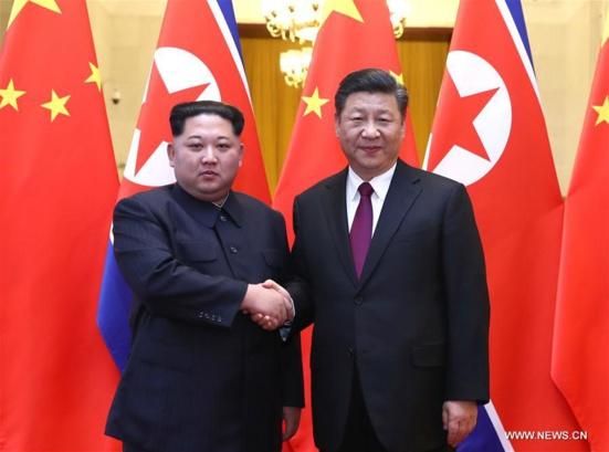 Une rencontre historique entre Xi Jinping et Kim Jong Un