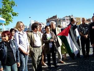Martigues : Rassemblement protestataire pour la Palestine