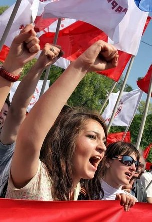Vague rouge en Moldavie, le retour du PCRM
