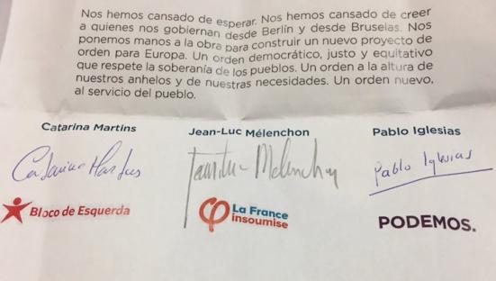 """La France insoumise renonce à son """"plan B"""" pour les élections européennes"""