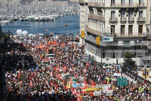 Retraites : forte mobilisation pour la journée d'action
