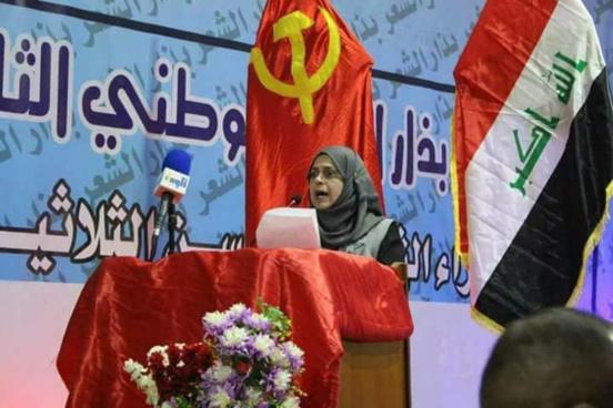 Suhad al-Khateeb, première femme communiste élue députée en Irak