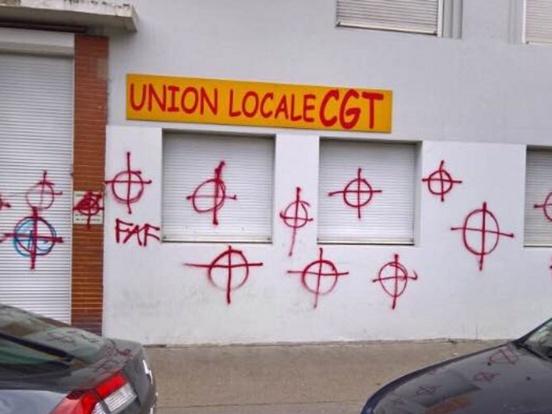 Lyon : un local de la CGT attaqué par l'extrême droite