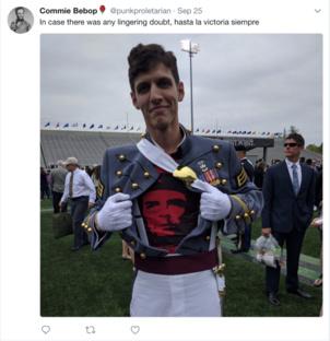 L'officier communiste de West-Point a été expulsé de l'armée