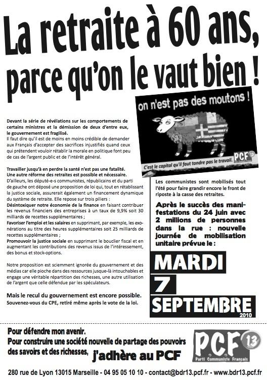 Retraites : En grève et dans la rue par millions pour imposer le retrait du projet !