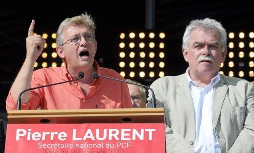 Discours de Pierre LAURENT - Secrétaire national du PCF devant 60.000 personnes