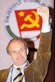 Fausto Bertinotti,leader du Partito della rifondazione comunista