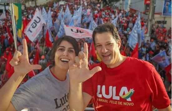 Sondage présidentielle au Brésil : Haddad/D'Avila donnés gagnant au 2ème tour