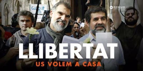 """Les """"Jordis"""" en prison : 365 jours sous le joug de la justice politique espagnole"""