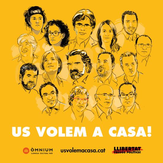 Avui fa un any : Le 27 octobre 2017, la République Catalane est proclamée !