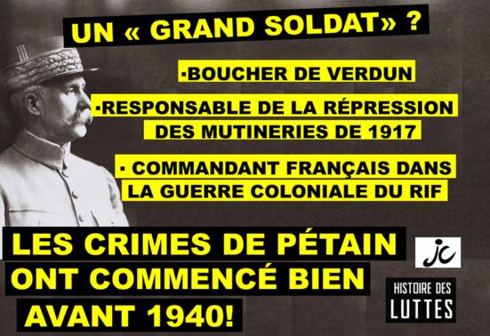 """Pétain, un """"grand soldat""""?"""