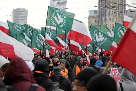 """Parti Communiste de Pologne : """"On ne doit pas négocier avec les fascistes"""""""