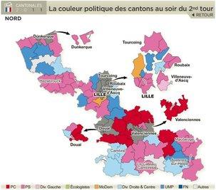 Nord : Grand chelem du PCF à Valenciennes
