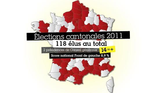 Les élus communistes et apparentés (PCF-Front de Gauche)