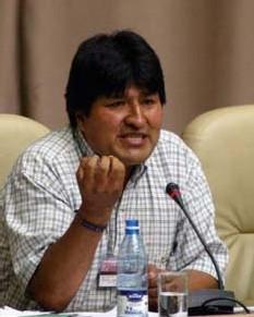 Bolivie : Evo Morales a prêté serment