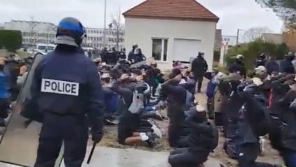 Mantes-la-Jolie : Images insoutenables d'un gouvernement aux abois