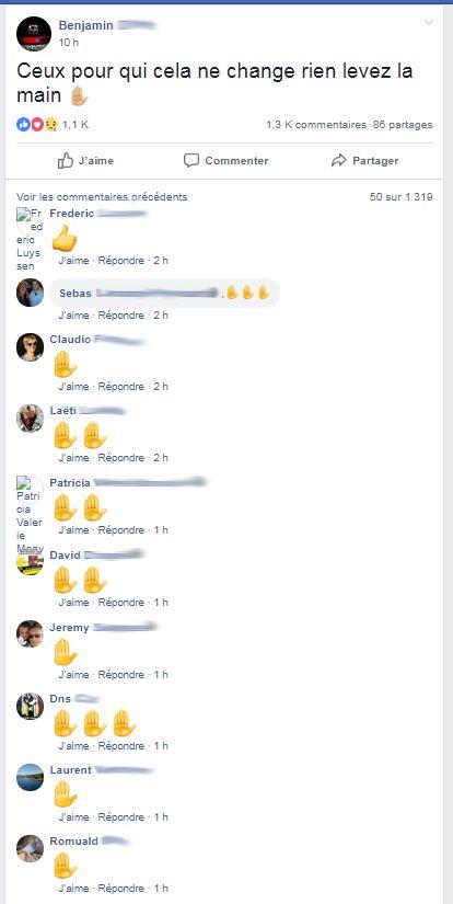 """""""Que dalle"""", """"bidon"""", sur Facebook, les """"gilets jaunes"""" insatisfaits par les annonces d'Emmanuel Macron"""
