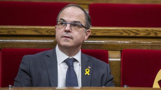 Catalogne : Jordi Turull, l'ex porte parole de la Generalitat, en grève de la faim, admis à l'infirmerie de sa prison
