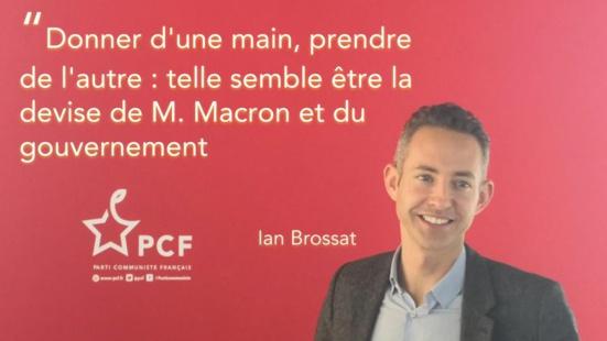 """Gilets jaunes/Abandon de mesures d'accompagnement : """"une honte !"""" (PCF)"""