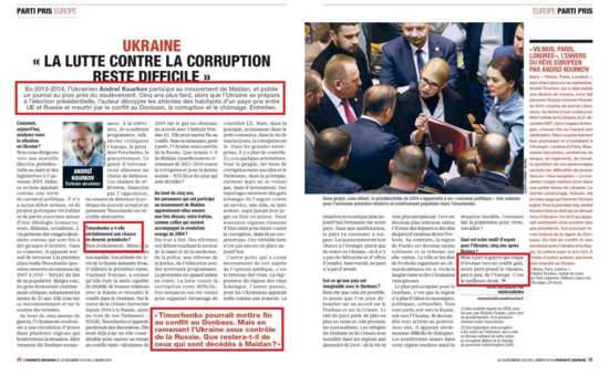 Ukraine : Mais qu'est-ce qui c'est passé à l'Humanité Dimanche ?