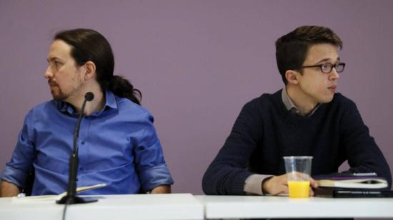 Íñigo Errejón claque la porte de Podemos à Madrid