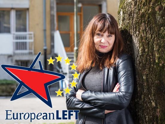 Violeta Tomič (Levica) désignée cheffe de file du PGE pour les élections européennes