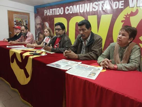 Le Parti Communiste du Venezuela (PCV) demande la dissolution immédiate de l'Assemblée nationale