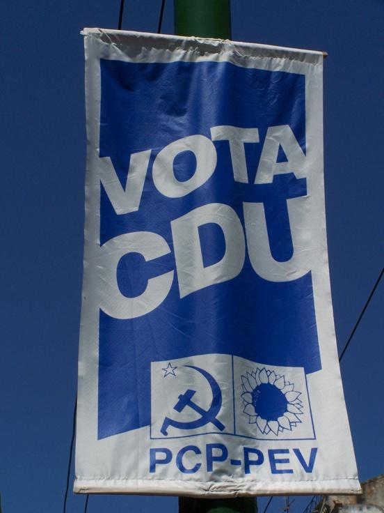 Sondage / Portugal : La coalition écolo-communiste (CDU) créditée de 13,4% et 3 eurodéputé.e.s