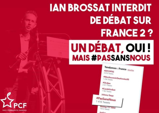 «L'Emission politique» : le PCF finalement invité au débat de France 2