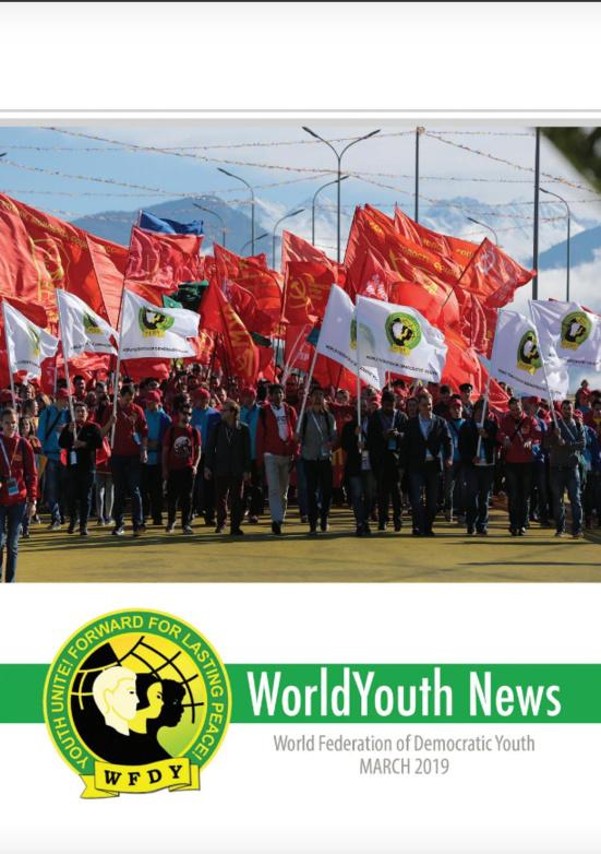 """""""WorldYouth News"""" le magazine de la Fédération Mondiale de la Jeunesse Démocratique (FMJD-WFDY)"""