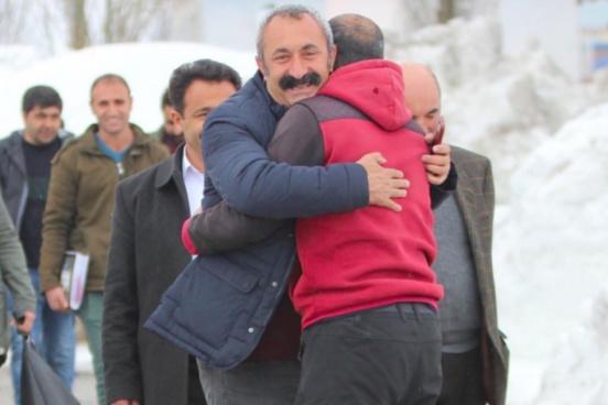 Le candidat du TKP, Fatih Mehmet Maçoğlu, a remporté les élections à Tunceli